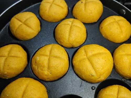 baking bati for dal bati churma
