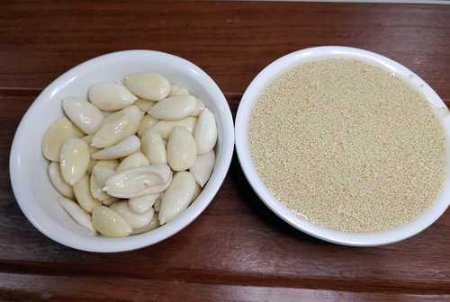 ingredients for khas khas kalwa