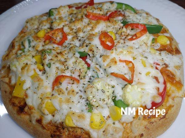 veg cheese pizza recipe