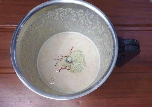 add cardamom to bread kulfi recipe
