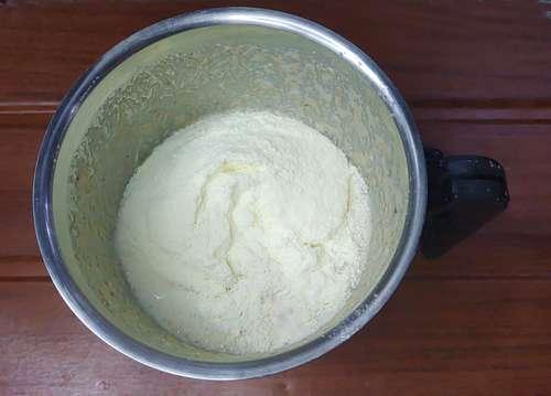 adding milk powder to kulfi recipe
