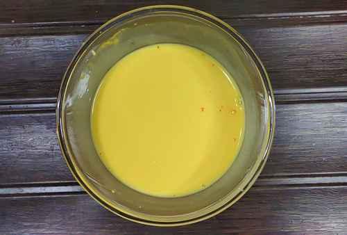 slurry for vermicelli custard